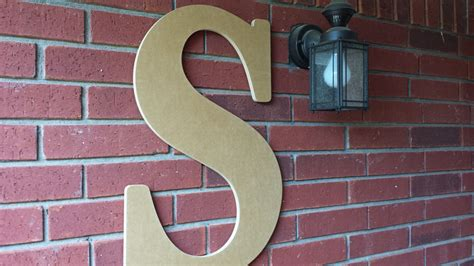 Outdoor Letters by 36 Inch Large Wooden Letter For Indoor Or Outdoor Use