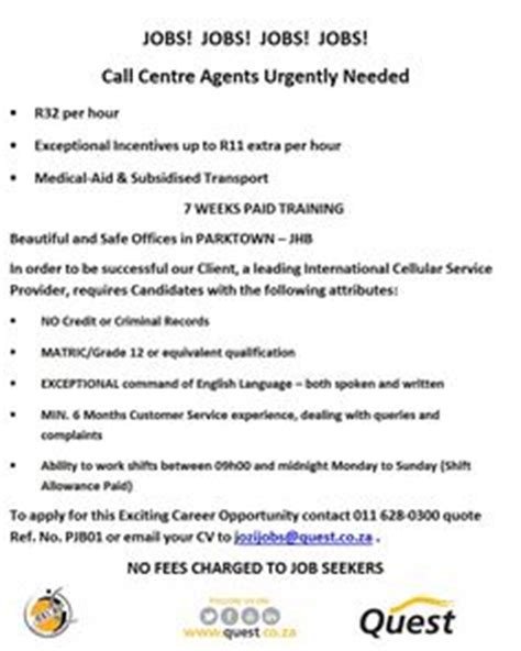 Sa Criminal Record Centre 1000 Images About Quest Adverts On Call Centre Looking For A And