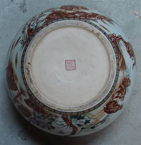 Antiques From China Auction by Antique Porcelain Monkey Vases And Bowl For Sale