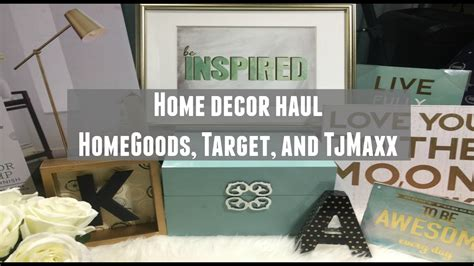 home office decor haul homegoods target tj maxx
