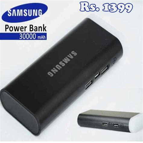 Power Bank Samsung Lucu samsung 30000mah compact power bank portable a1