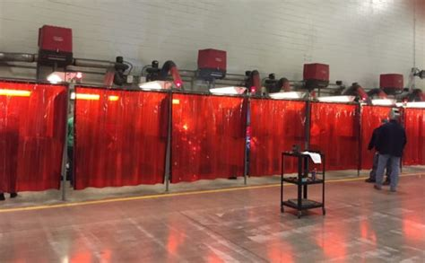 Design Your Garage welding booth curtains for sale custom weld safety material