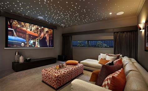 Media Room Ceiling by Actual Home Theater Furniture Living Room Style Home