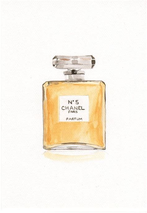 Parfum Chanel No 5 Kw chanel no 5 parfum grand extrait fragrance watercolor