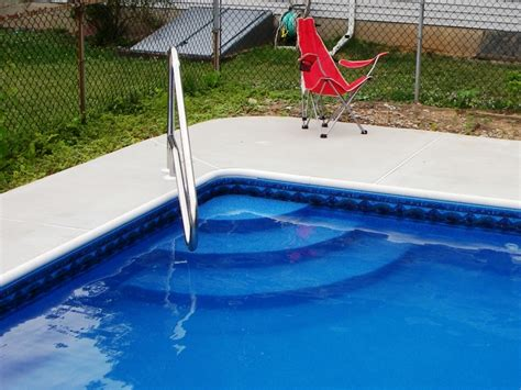 Handrails For Pool Stairs vinyl pools pool liners pool service pool renovations in bucks county and montgomery county