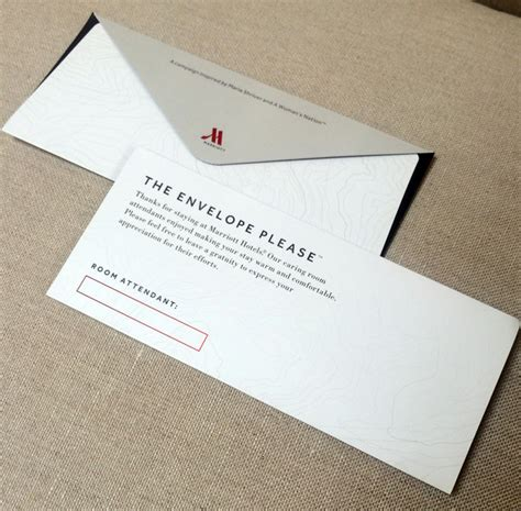 hotel room tip should you feel obligated to tip your room s marriott hotels placing envelopes in rooms to
