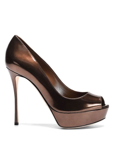 Ready Valentino Snakers Pria Mirror Quality 3 mirror leather wedge pumps by sergio court shoes ikrix