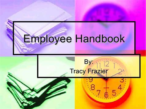 Employee Handbook Power Point Employee Handbook Template Powerpoint