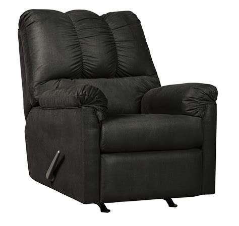 black rocker recliner darcy black rocker recliner from ashley coleman furniture