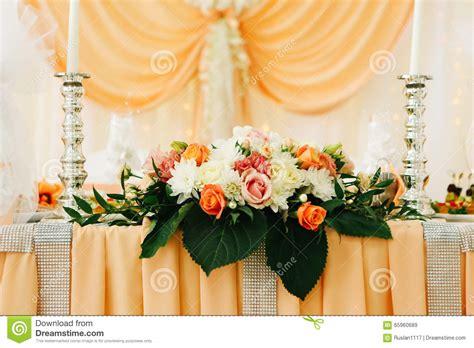 beau d 233 cor de d 233 coration de table de mariage des nouveaux