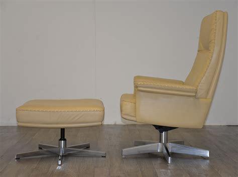 armchairs and ottomans swiss ds 35 swivel lounge armchairs and ottomans from de