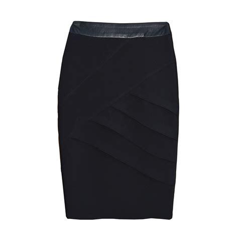 jeetly black pencil skirt