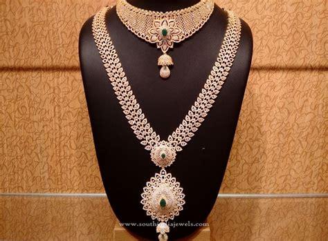 Wedding Gold Jewelry by Gold Cz Bridal Jewellery Set Gold Bridal Jewellery