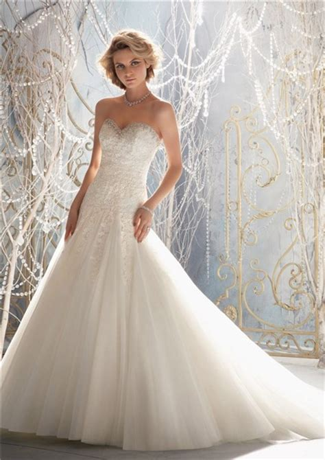 princess sweetheart pleated tulle lace beaded
