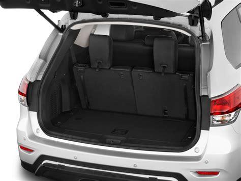pathfinder nissan trunk image 2016 nissan pathfinder 2wd 4 door sl trunk size