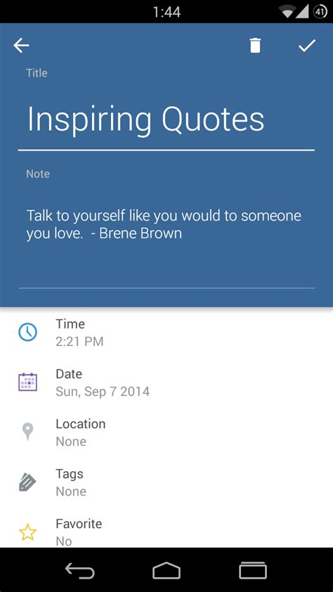 android note taking app narrate a material design inspired note taking app for android