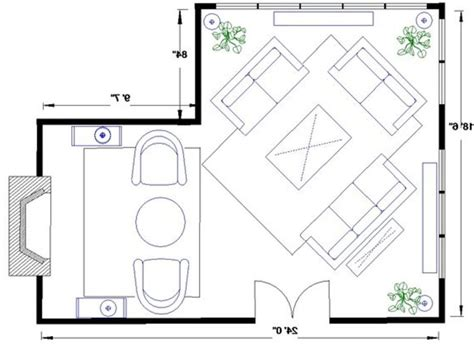 l shaped living room layout