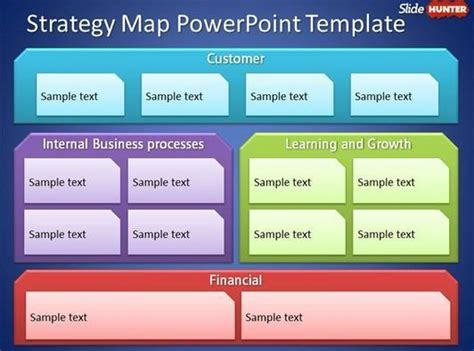 Free Strategy Map Powerpoint Template Free Bu Business Strategy Template Powerpoint