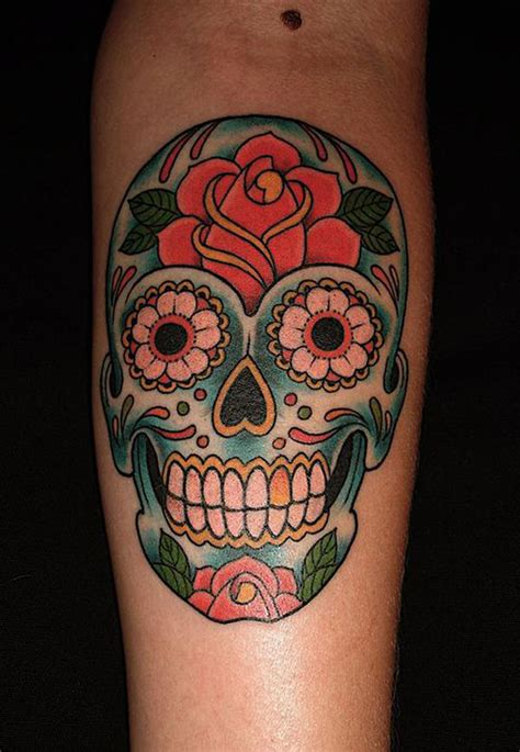 candy skull tattoo skull tattoos designs ideas and meaning tattoos
