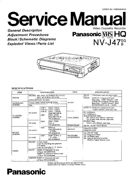 service manual service repair manual free download 2010 nissan pathfinder transmission control panasonic vcr nv j47eg b service manual service manual download schematics eeprom repair info