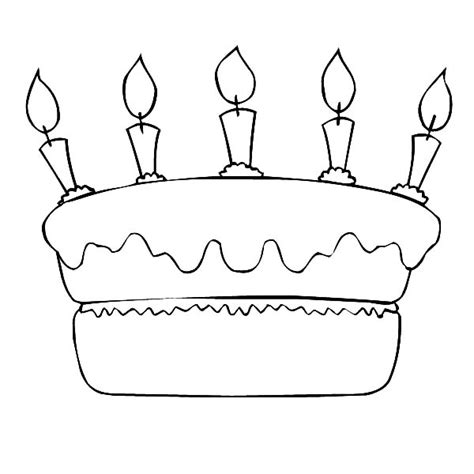birthday cake coloring pages preschool birthday cake pages for preschoolers coloring pages