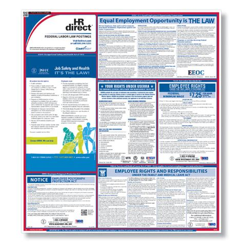 printable federal labor laws poster federal labor law poster labor law compliance posters