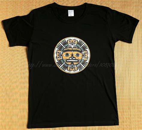 Tshirt One Nw 01 Xl From Ordinal Apparel aliexpress buy size xl color black pacific northwest coast indian goat animal faces on