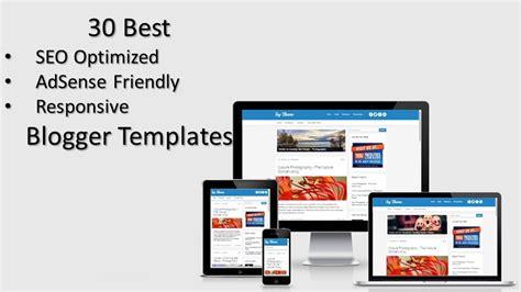seo optimized templates for blogger 30 best seo optimized adsense friendly responsive blogger