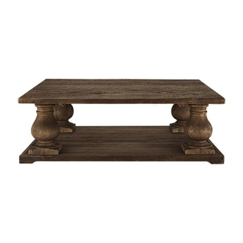 hudson furniture coffee table hudson rectangle coffee table in brown arhaus furniture