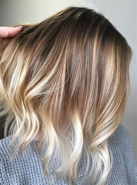 pretty hair color ideas balayage with pretty hair color ideas for
