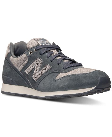 lyst new balance s 696 casual sneakers from finish