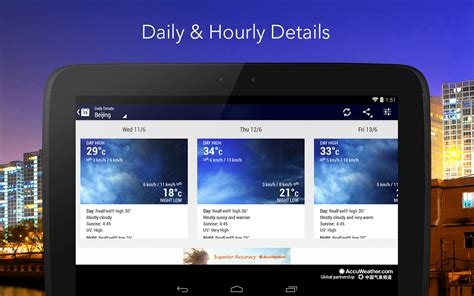 weather apps for android 6 best free weather apps for android