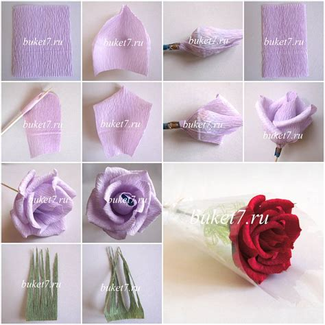 How To Make Roses With Paper Step By Step - how to make paper roses step by step book covers