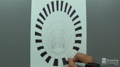 3d Illusion Drawing Tutorial