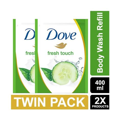 Harga Dove Sabun jual dove go fresh wash fresh touch refill 400 ml