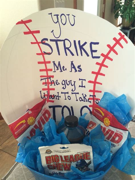 cute themes for dances asking boy to dance baseball proposal pinterest boys