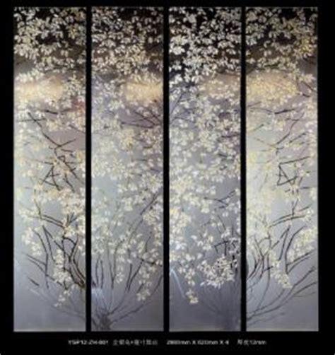 decorative glass panels for doors gold foil decorative glass panels for doors leaf pattern