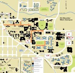 cu boulder map universityparent guide to of colorado at boulder maps contacts info