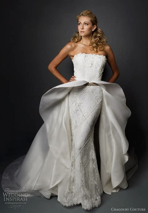 Couture Wedding Dresses by Chagoury Couture Wedding Dresses Wedding Inspirasi