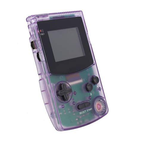 backlit gameboy color gb boy colour backlit gamer choice purple 188