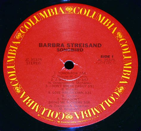 barbra streisand songbird barbra streisand quot songbird quot lp records