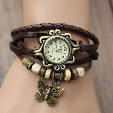 leather vintage bracelet new style funky