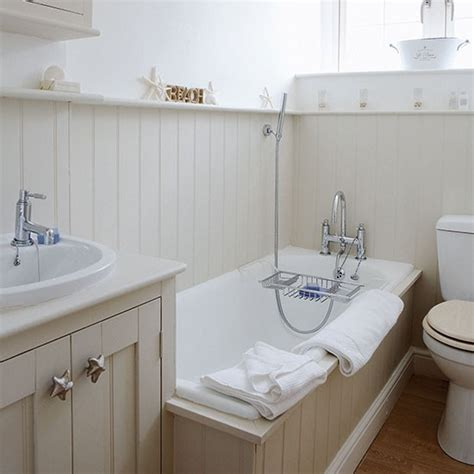 small bathroom design ideas uk panelled bathroom small bathroom ideas housetohome co uk