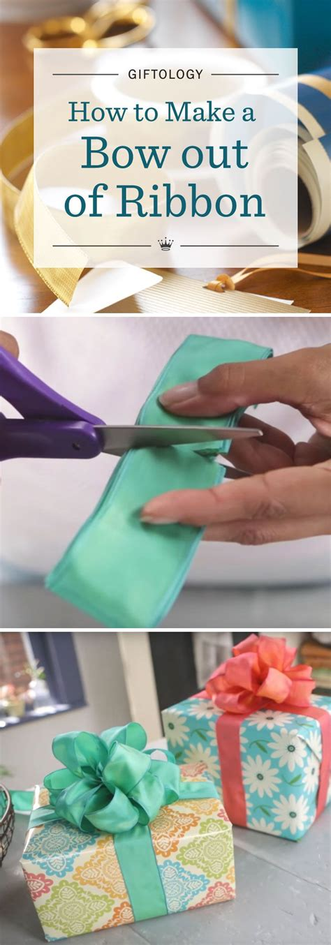 How To Make A Bow Out Of Wrapping Paper - giftology how to make a bow out of ribbon learn the