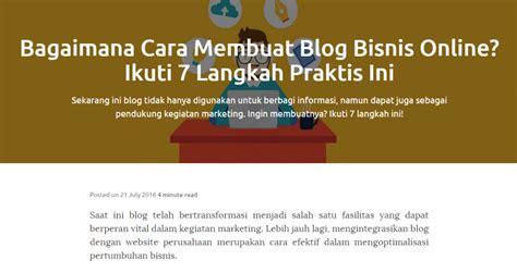 membuat website bisnis online blog marketing cara pemasaran bisnis melalui blog blog