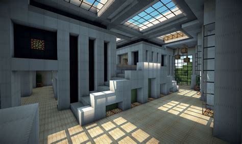 Floor Plans For 4 Bedroom Houses by Modern House On World Of Keralis Minecraft Project