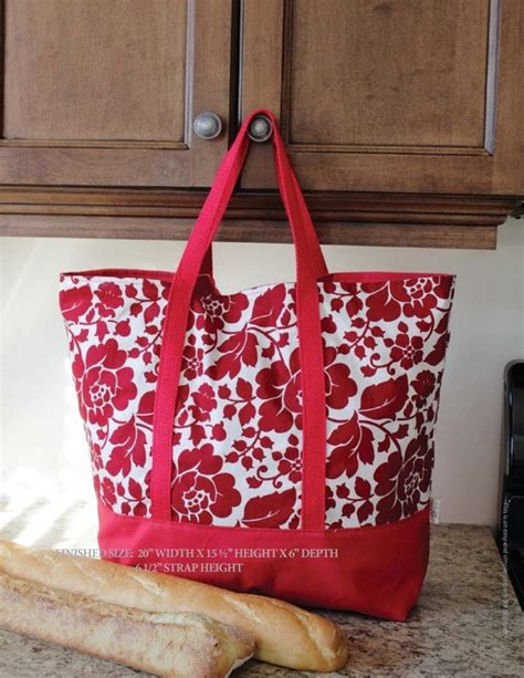 easy tote bag sewing pattern free the martha market bag free pdf sewing pattern