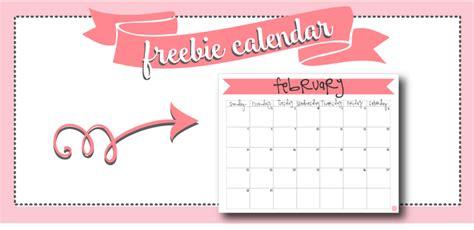february 2018 calendar free printable live craft eat february 2016 calendar free printable live craft eat