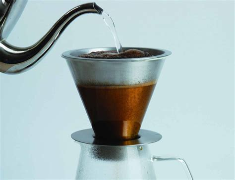 Coffee Dripper kinto carat coffee dripper and pot 187 gadget flow