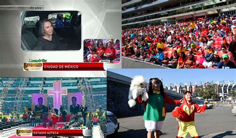 imagenes estadio azteca chespirito con un coro de ni 241 os y mariachi miles despiden a